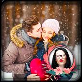 Kiss Photo Frame 😘 icon