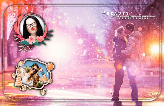 Kiss Photo Frame 😘 poster