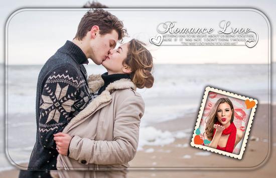 Kiss Photo Frame 😘 screenshot 2
