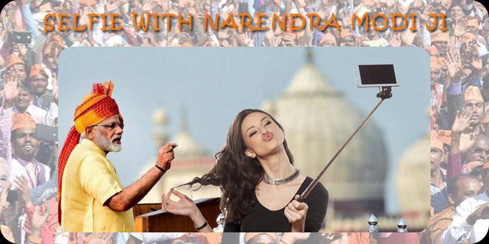 Selfie With Narendra Modi Ji poster