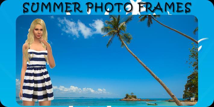Summer Photo Frame poster