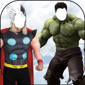 Super Hero Photo Suit icon