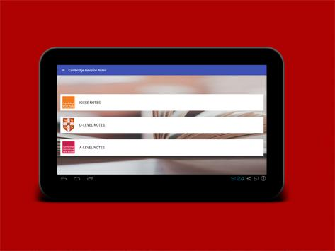 Cambridge Revision Notes for Android - APK Download
