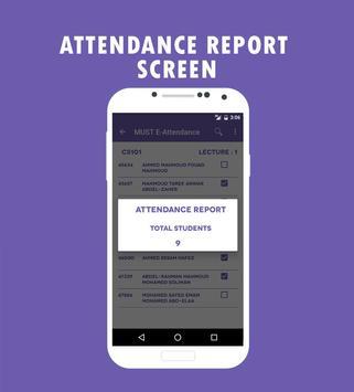 E-Attendance QR Code apk screenshot