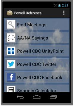 Powell CDC Resources screenshot 3