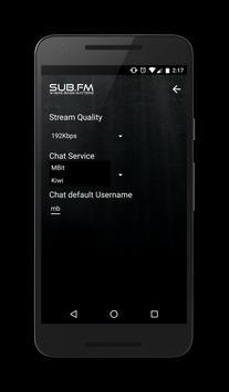 Sub FM - Official App apk screenshot