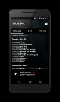 Sub FM poster