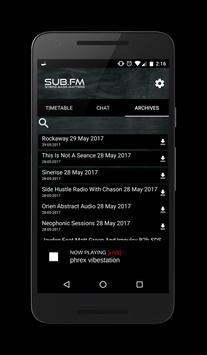 Sub FM screenshot 3