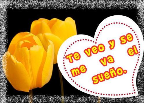 Frases de amor con hermosos tulipanes screenshot 5