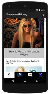 How to Make a Girl Laugh apk screenshot