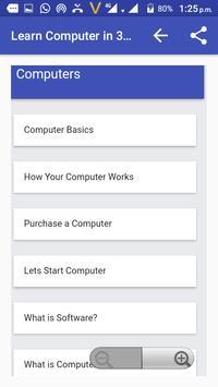 Learn Computer in 30 Days screenshot 5