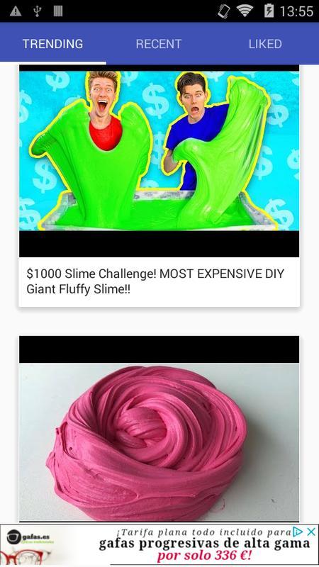 Android Için Slime Yapmak Diy Slime Tarifleri Apkyı Indir