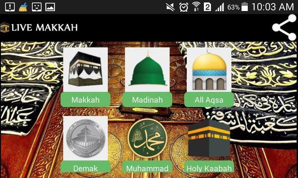 Mecca / Makkah Live HD poster
