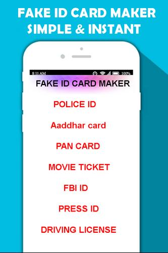 Fake id card maker for android apk download for Fake certificates maker