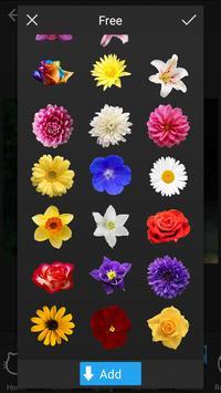 Stickers: Flowers apk screenshot