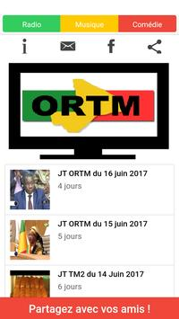 ORTM Mali poster