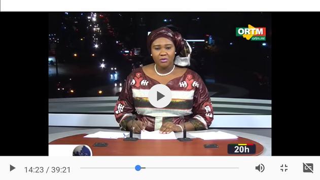 ORTM Mali apk screenshot