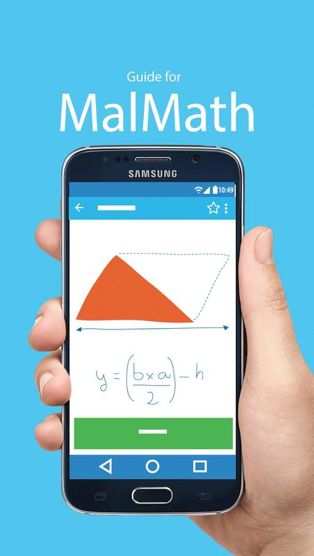 Free MalMath Math Solver Tips APK Download - Free Education APP for ...