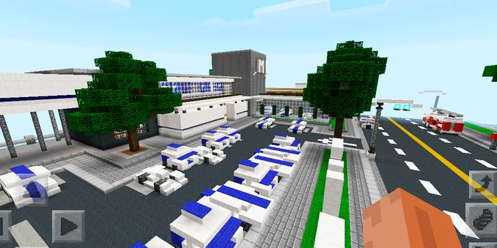 New Los Dangeles City. Map for MCPE apk screenshot