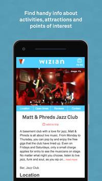Wizian:  Your ultimate travel companion apk screenshot