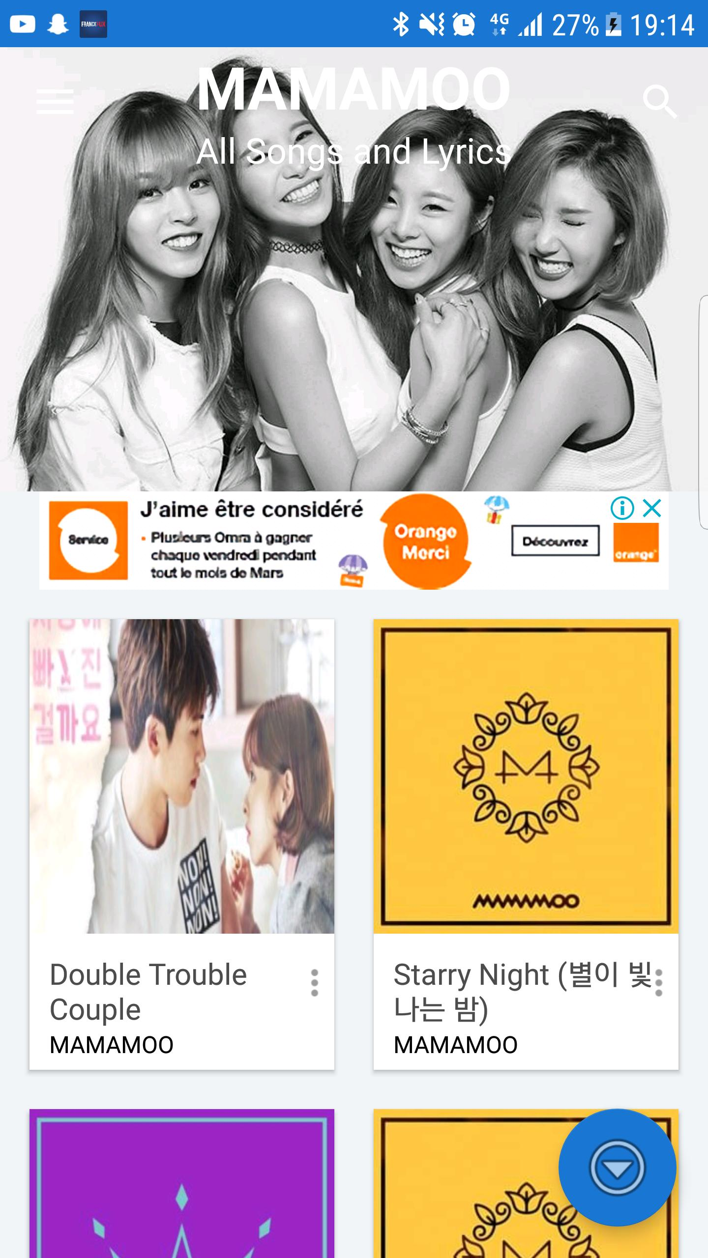 Mamamoo (마마무) all songs and lyrics for Android - APK Download