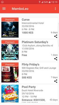 MamboLeo : Kenya Events News apk screenshot