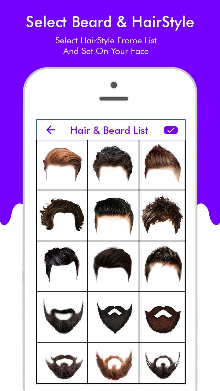 Beard Photo Editor-Hairstyle app für Android - APK herunterladen