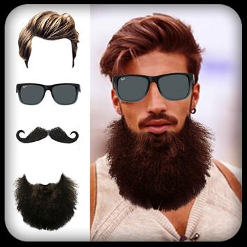 Man Hair Mustache And Hair Styles PRO poster