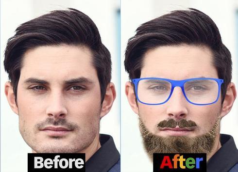 Man Hair Mustache And Hair Styles PRO apk screenshot