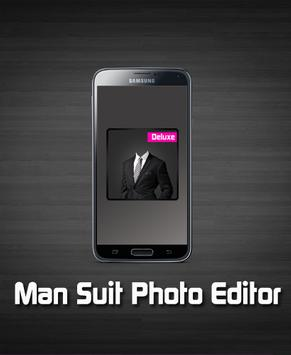 Man Suit Photo Editor poster