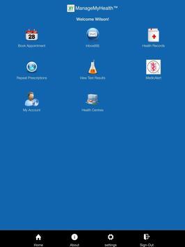 ManageMyHealth apk screenshot