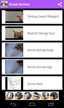 Draw Anime - Manga Tutorials apk screenshot