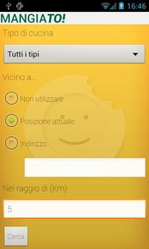 MangiaTo apk screenshot
