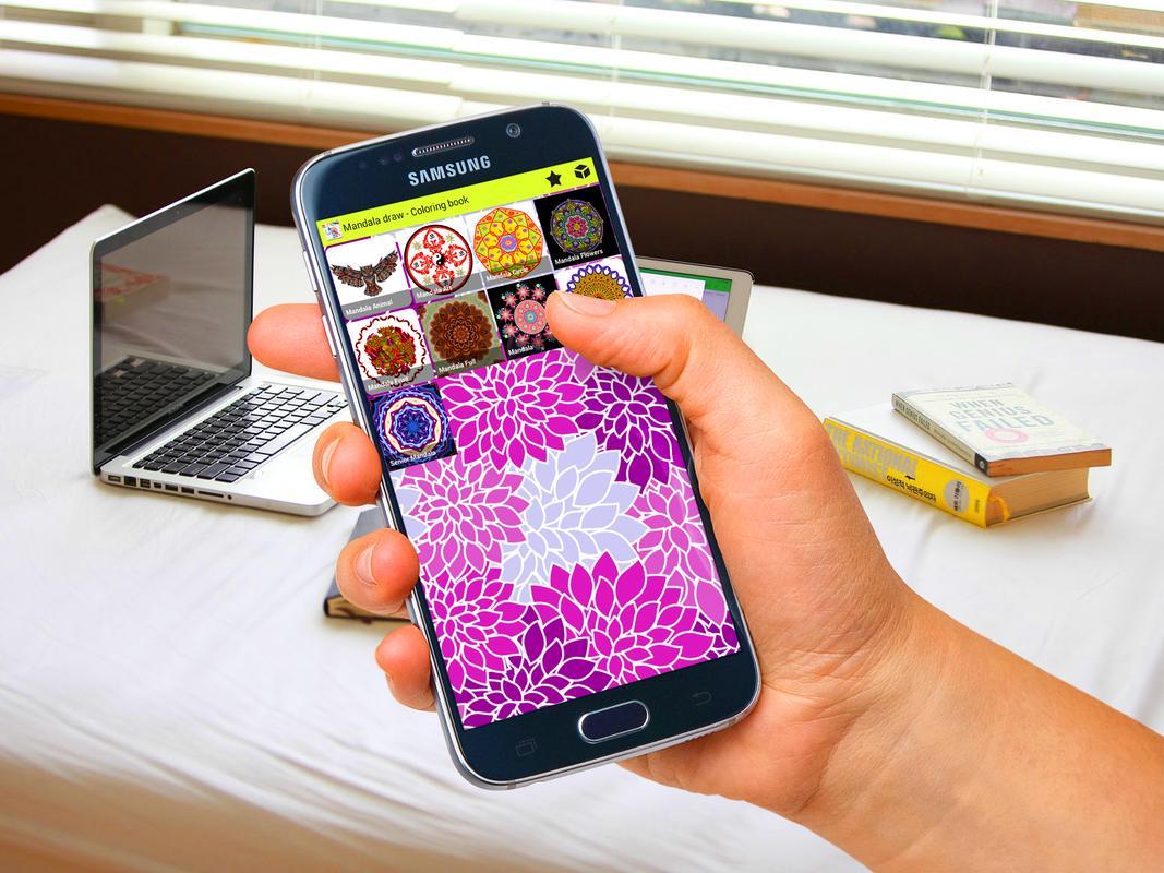 Mandala draw - Dibujo para colorear Descarga APK - Gratis Educativos ...