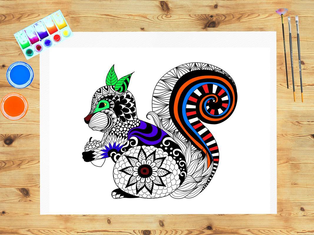 Mandala dibujo - Colorear Descarga APK - Gratis Entretenimiento ...