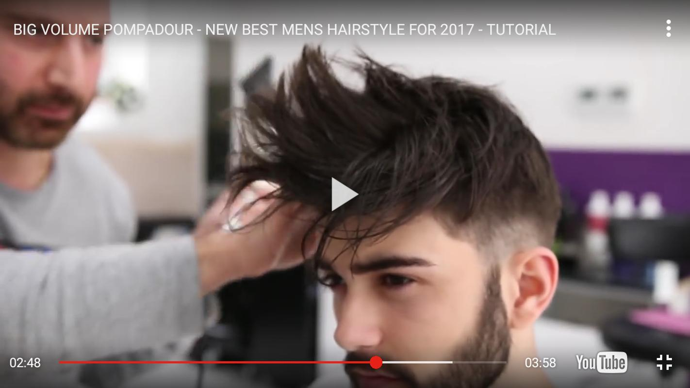 man hairstyle tutorials apk download - free entertainment app for