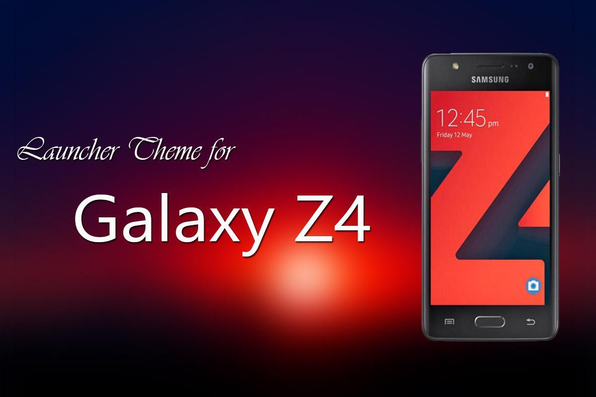 Launcher Theme for Galaxy Z4 for Android - APK Download
