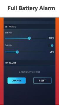 Full Battery Alarm apk screenshot
