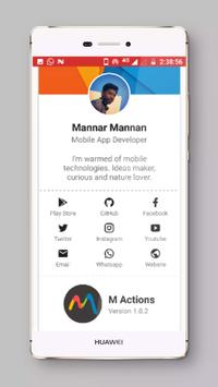 M Actions   FlashLight screenshot 2