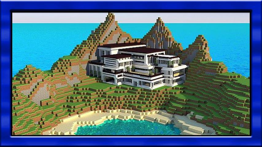 New modern mansion maps for minecraft pe for Android - APK
