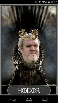 Hodor Says poster
