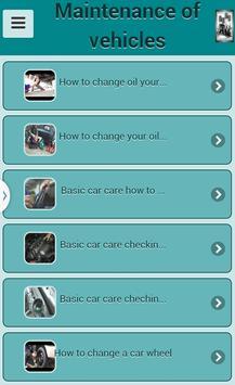Maintenance vehicles apk screenshot