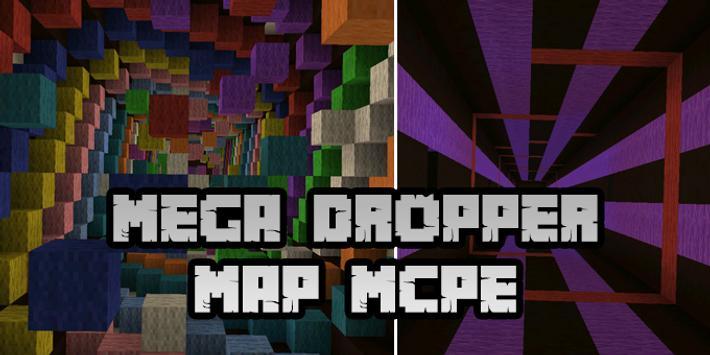 New Mega Dropper Map for Minecraft PE screenshot 4