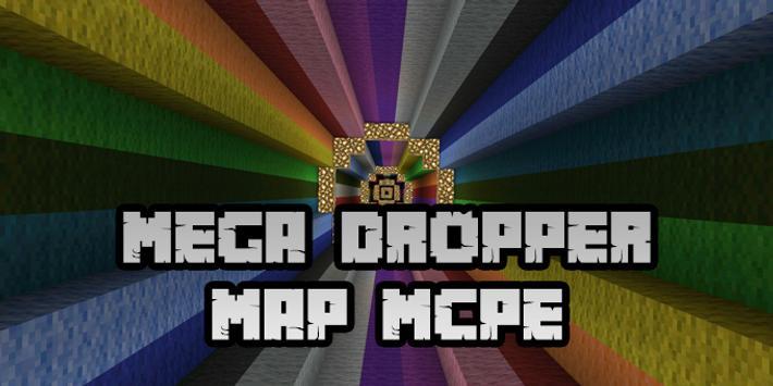 New Mega Dropper Map for Minecraft PE screenshot 5