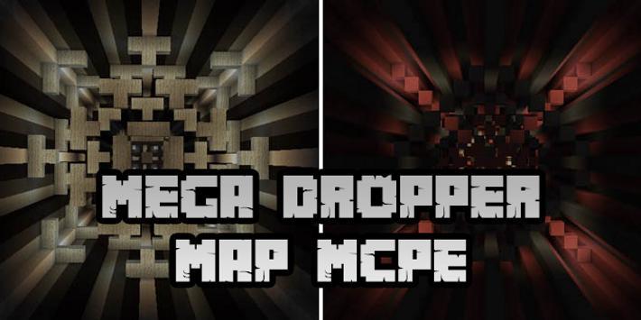 New Mega Dropper Map for Minecraft PE screenshot 2