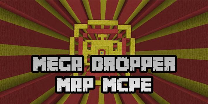 New Mega Dropper Map for Minecraft PE screenshot 3