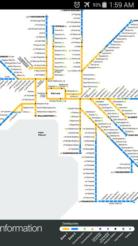 Melbourne Metro Map For Android Apk Download