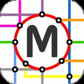 Montreal Metro Map icon