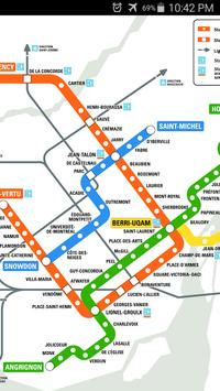 Montreal Metro Map screenshot 1
