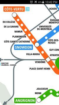 Montreal Metro Map screenshot 2